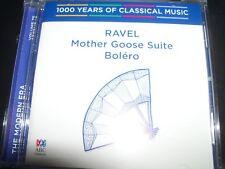 Ravel: Mother Goose Suite / Bolero (1000 Years Of Classical Music, Vol 75) CD –