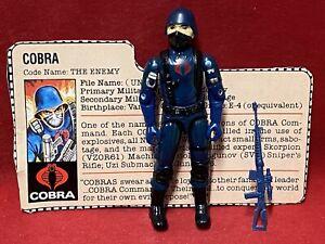 1983 Vintage Gi Joe.................COBRA SOLDIER 100% Complete