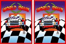 World Rally Arcade Game side art set