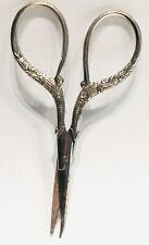 Antique vintage steel Sewing Scissors nähen Schere Ciseaux couture haren Schaar