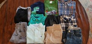 Lot of 11 Baby Boy sz. 18 mo. Outfits, Ralph Lauren, Kaola Kids, Levis, Old Navy