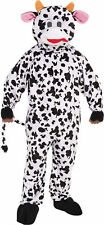 Cow Mascot Adult Mens Costume Nature Animal Funny Theme Cute Party Halloween
