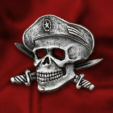 RUSSIAN SPECIAL FORCES BERET BADGE SKULL DAGGERS HEADGEAR MILITARY INSIGNIA PIN