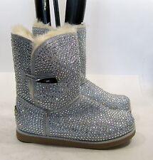 new Silver  Urban glittery rhinestone sexy ankle  boot  Size.   9