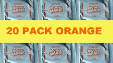 LOT of 20 Crayola Model Magic Modeling Compound 0.5 oz Packs ORANGE