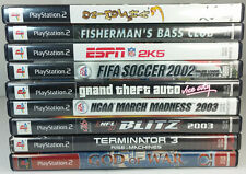 Lot of 9 Playstation 2 Games Onimusha 3 God of War Grand Theft Auto Vice City
