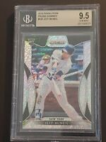 2019 Panini Prizm Prizms Shimmer BGS 9.5 Jeff McNeil RC SSP 7/7 POP One of One