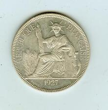 1927 French Indo-China (Vietnam) 1 Piastre
