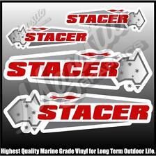 STACER - SET OF 4 DECALS - BOAT DECALS