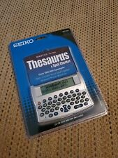 Seiko Wp1500 Multi-Purpose Spell Check, Thesaurus, Directory Calculator (Sealed