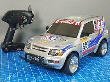 Tamiya 1/10 R/C Mitsubishi Pajero Rally Sport 4WD CC-01 Chassis 2.4Ghz Remote