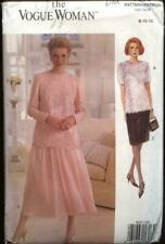 VOGUE NEW sewing pattern 8635 MOB bridal Evening Party SKIRT TOP SUIT 8 10 12