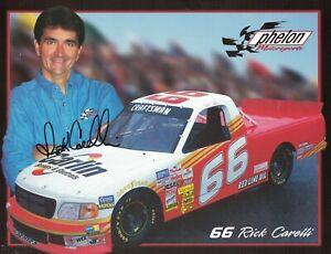 Rick Carelli Signed Autographed 8 1/2 x 11 Photo Nascar Truck Series Driver