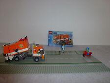 Lego City 7991 Müllauto mit OBA +2 Strassen+2Figuren+2T (24)