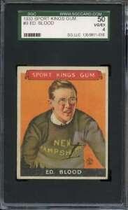 1933 SPORT KINGS #9 ED BLOOD SGC 4 SKIING  *DS8376