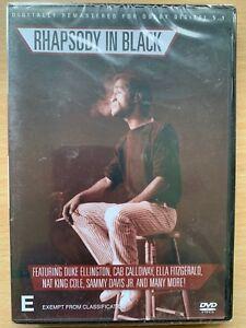 Rhapsody in Black DVD Rhythm Blues Performance Live Music BNIB