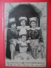 JEUNES FILLES DE PONT-AVEN ET QUIMPERLÉ........VO.1919.