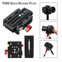 Quick Release Clamp Adapter + QR Plate P200 for Manfrotto 500 AH 701 503 HDV 577