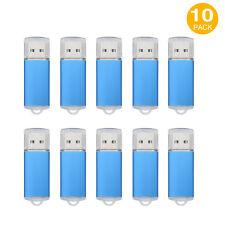 10PCS USB 2.0 Flash Drives 8GB Memory Sticks Thumb Pen Drives Enough Storage