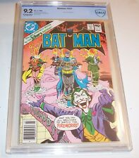 Batman #321 - CBCS NM- 9.2 - 1980 Bronze Age classic (Joker cover and issue)