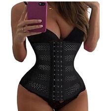 Waist Trainer Cincher Shaper Underbust Shapewear Control Tummy Women Body Corset