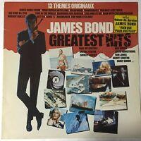 James Bond Greatest Hits LP VG+ Vinyl 1982 Liberty France Import Hype Sticker