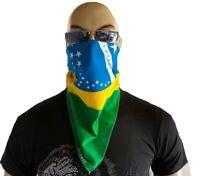 COPACABANA BRAZIL Brasilien Flagge Bandana Kopftuch Behelfs-Nasen Mundschutz