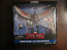 "Hasbro Marvel Legends Civil War Falcon 4"" Figure NIB"
