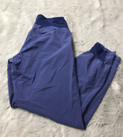 Salomon Dark Blue Cuffed Soft Shell Polyester Outdoor Joggers Women's M