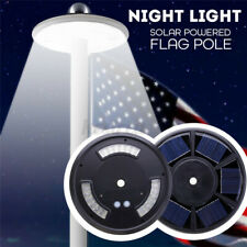 42Led Super Bright Solar Power Flag Pole Night Light Downlight Waterproof Garden