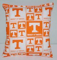 University Tennessee Pillow Football Pillow UT Pillow NCAA HANDMADE In USA