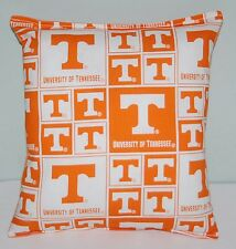 University Tennessee Pillow Football Pillow UT Pillow NCAA HANDMADE In USA