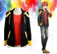 Hot Anime Mystic Messenger 707 Luciel Cosplay Leisure Unisex Jacket Hoodie Coat