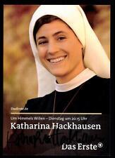 Katharina Hackhausen Um himmels willen Autogrammkarte Original  # BC 51386