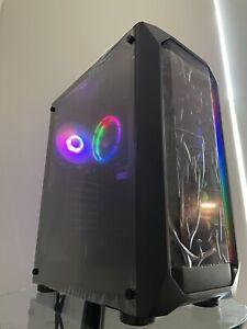 Fast RGB Gaming PC Desktop Computer - AMD 12 CORES 8GB RAM 256GB SSD WIFI WIN10