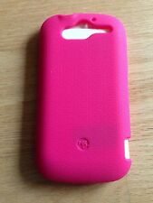 New T-mobile Pink TPU Gel Rubber Case Skin Cover For HTC MyTouch 4G HD