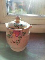 Antique Vintage 1920-30s Honey Condiment Pot - Excellent Mint Condition
