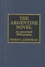 The Argentine Novel-ExLibrary