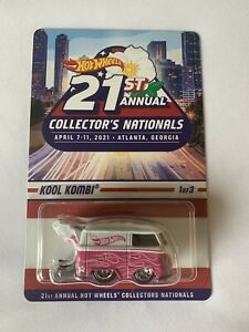 Kool Kombi 2021 Hot Wheels 21st National Convention Atlanta #1 Series Car