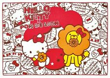 NEW Hello Kitty Sanrio Red White Towel Blanket Mr. Donut Pon De Lion Microfiber