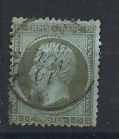 France N° 19 Obl (FU) 1862 - Napoléon III