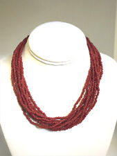 SILPADA 16' Red Coral 10-Strand Beaded Necklace