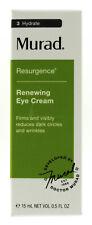 Murad Renewing Eye Cream 0.5oz/15ml NIB AUTH