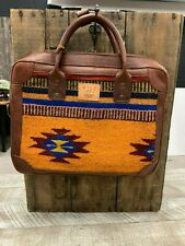 Will Leather Goods Yellow Oaxacan Briefcase  NWT