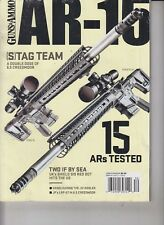 Guns & Ammo AR-15 2017 Two if by Sea- UK's Shield SIS Red Dot Hits the US