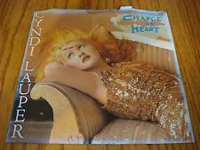 Vintage 45 RPM Cyndi Lauper Change of Heart & Witness Picture Sleeve 1986