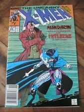 Uncanny X-Men #256 December 1989 1st Psylocke Key Marvel Comics - Newsstand  ZC0