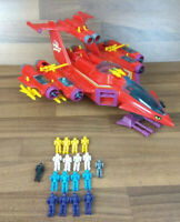 Red Venom Manta Force Playset Action Toy Figures Bluebird 1987 RARE Collectable