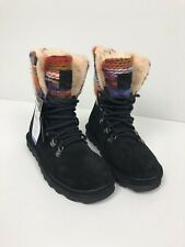 Bearpaw Maria Knit Boots Black Size 6 Multicolor Wool Lining