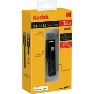 Flash Drive Lightning-Stick Kodak iCobra2 USB 3.0 32 GB EMTEC für iPhones iPads